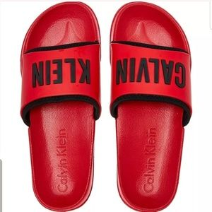 Intense Power Large Logo Slide Sandal